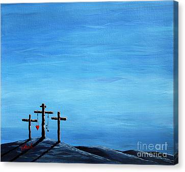 Love And Grace By Shawna Erback Canvas Print