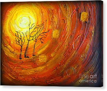 Love And Hope Canvas Print by Elena  Constantinescu
