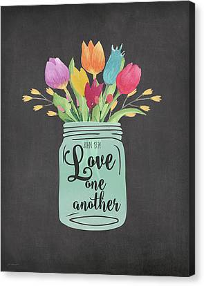 Love Another Canvas Print