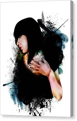 Love Canvas Print by Anton Egorov