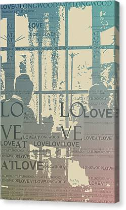 Love At Longwood Canvas Print