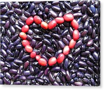 Love Beans #01 Canvas Print by Ausra Huntington nee Paulauskaite