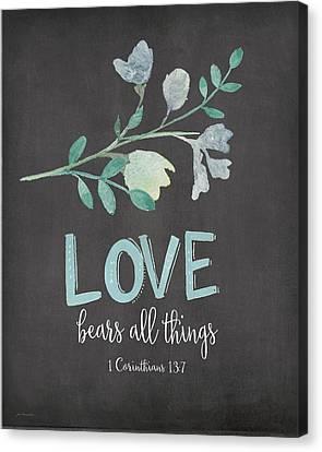 Love Bears All Canvas Print