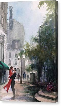 Love By The Biltmore Canvas Print