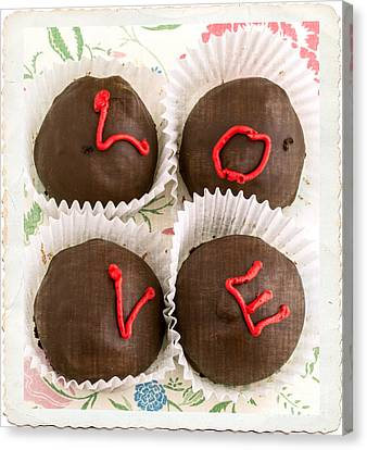 Love Cakes Canvas Print by Edward Fielding