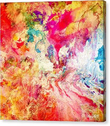Love Canvas Print by Donika Nikova
