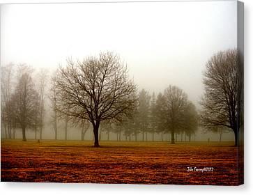 Love Foggy Mornings Canvas Print