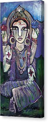 Love For Parvati Canvas Print by Laurie Maves ART