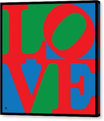 Love Canvas Print by Gary Grayson