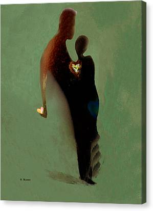 Love Canvas Print by Haleh Mahbod