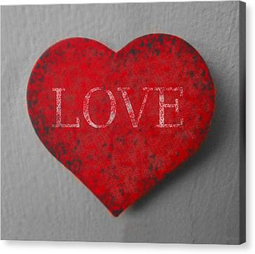 Love Heart 1 Canvas Print