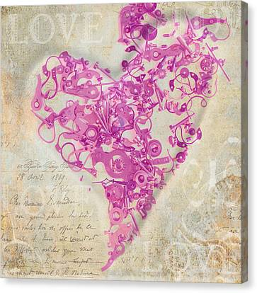 Love Is A Gift Canvas Print by Fran Riley