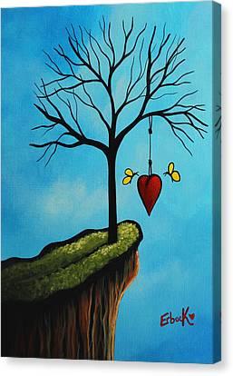 Love Is All We Need Original Artwork Canvas Print by Shawna Erback