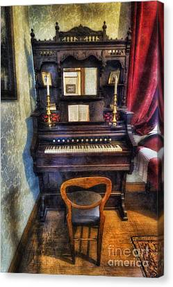 Love Is Called My Old Piano Canvas Print by Ian Mitchell