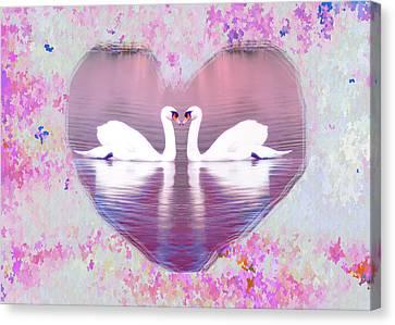 Love Is Everywhere Canvas Print