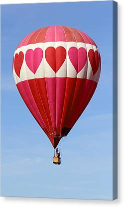 Balloon Festival Canvas Print - Love Is In The Air by Mike McGlothlen