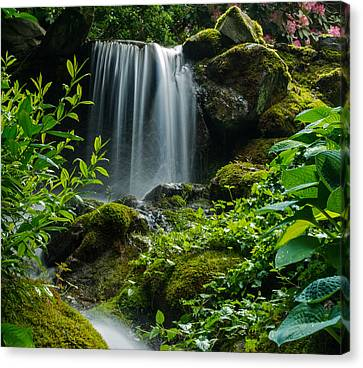 Love Is Like A Waterfall Canvas Print by Jordan Blackstone