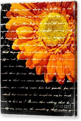 Love Letters Canvas Print by Edward Fielding