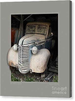 Love Letters In The Dust Canvas Print by Rick Kelly