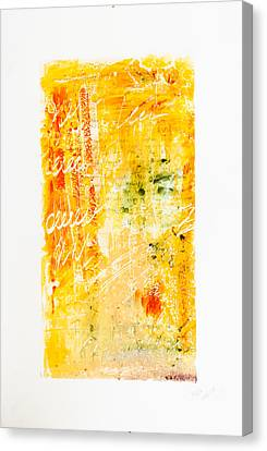 Love Letters Canvas Print by Maria  Lankina