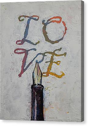 Love Canvas Print by Michael Creese
