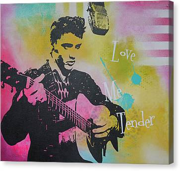 Love Me Tender Canvas Print by Bitten Kari