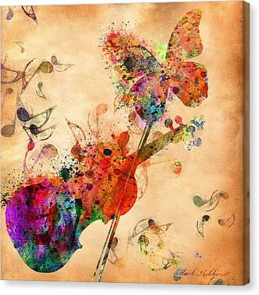 Love Music  Canvas Print by Mark Ashkenazi