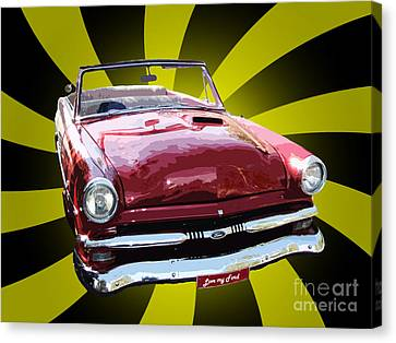 Love My Ford Canvas Print