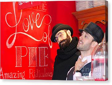 Love Of Pie Canvas Print by Andrea Simon