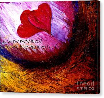 Love Of The Lord Canvas Print