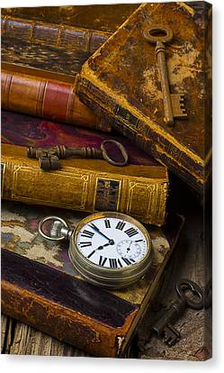 Love Old Books Canvas Print