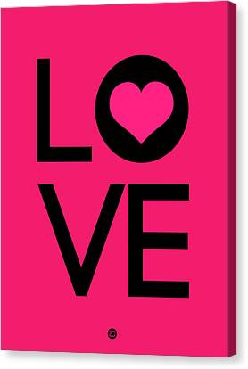 Love Poster 5 Canvas Print by Naxart Studio