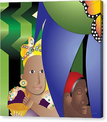 Love Potion For The Queen Canvas Print