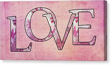 Love - S0102t Canvas Print