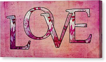 Love - S0103t Canvas Print