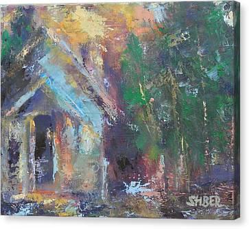 Love Shack Canvas Print by Kathy Stiber