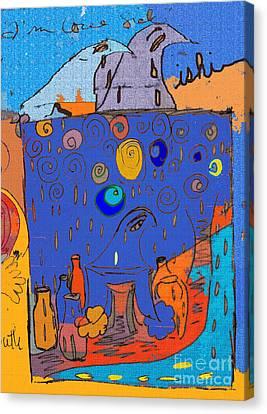 Love Sick Canvas Print by Deborah Montana