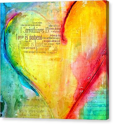Love Song Canvas Print