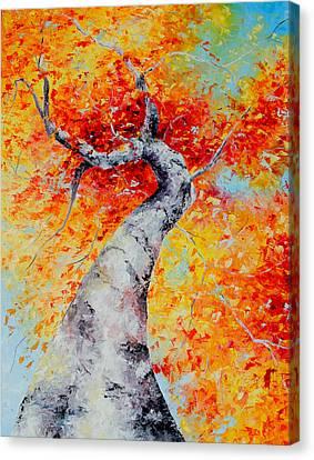 Love That Rejoices Canvas Print
