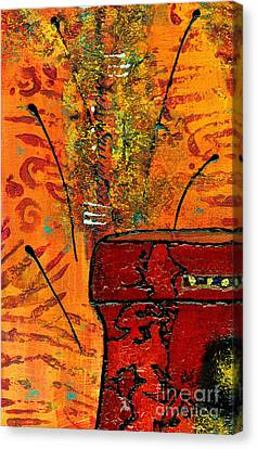 Love Vessel For My Woman Canvas Print by Angela L Walker