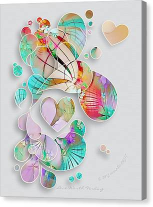 Love Worth Finding Canvas Print by Gayle Odsather
