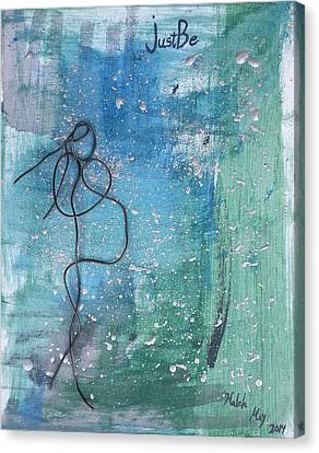 Love You Canvas Print by Haleh Dehlavi
