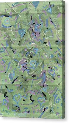 Canvas Print featuring the painting Love by Yshua The Painter