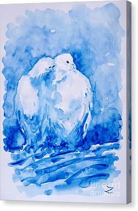 Love  Canvas Print by Zaira Dzhaubaeva