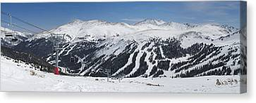 Loveland Ski Area Canvas Print by Aaron Spong