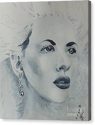 Lovely Blond Canvas Print by Natalie Sokolova