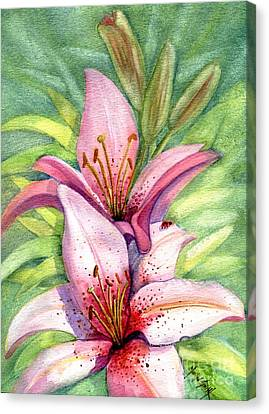 Lovely Ladies Canvas Print by Marilyn Smith
