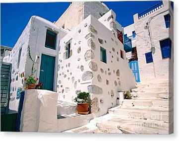 Lovely Outer Wall Canvas Print by Aiolos Greek Collections