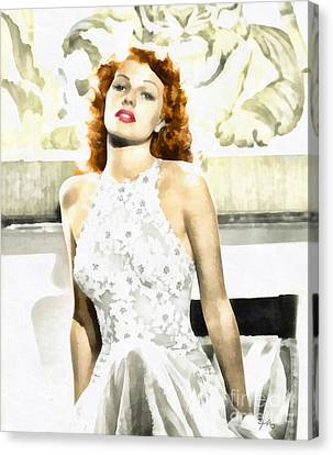 Lovely Rita Canvas Print by Mo T