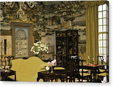 Lovely Room At Winterthur Gardens Canvas Print by Trish Tritz